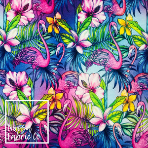 Jade Cotton Lycra Digital Print Fabric