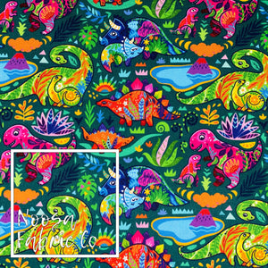 Dina SMALL SCALE Woven Digital Print Fabric