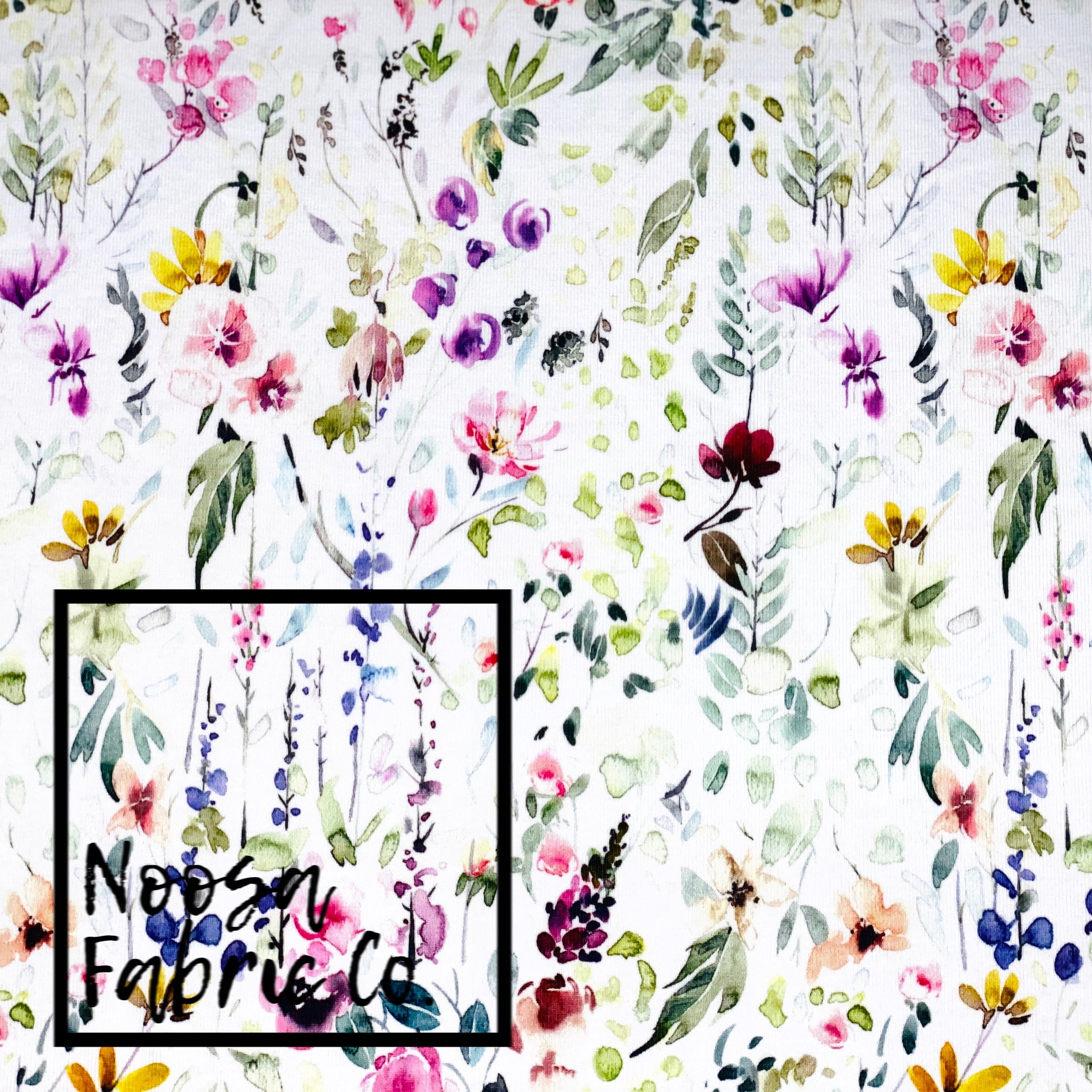 Faith Cotton Lycra Digital Print Fabric