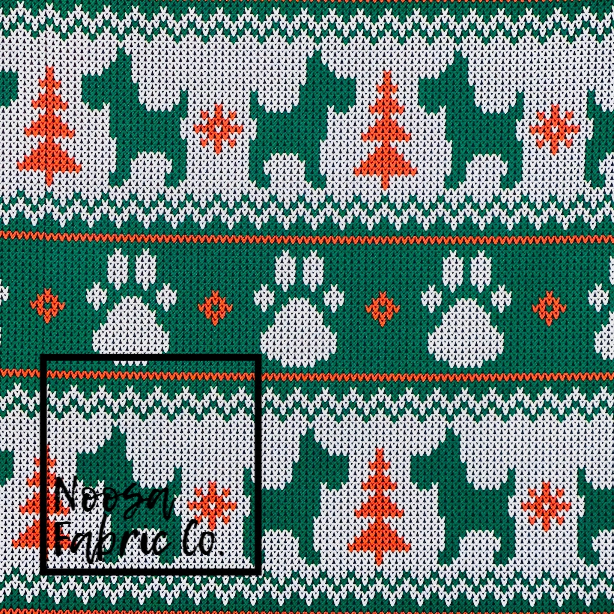 Vixen Christmas Woven Digital Print Fabric