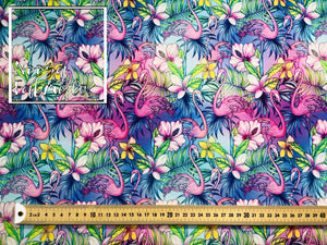Jade Woven Digital Print Fabric