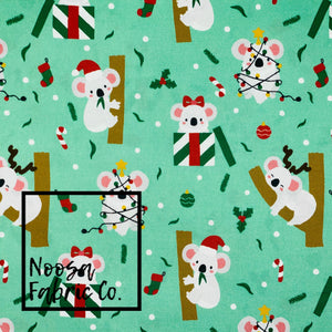 Lenora Christmas Woven Digital Print Fabric