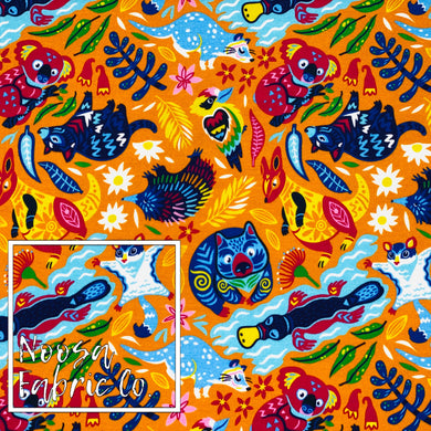 Kyle Cotton Lycra Digital Print Fabric