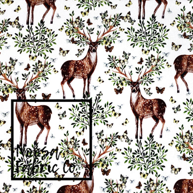Buck Cotton Lycra Digital Print Fabric