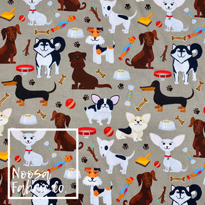 Amos Woven Digital Print Fabric
