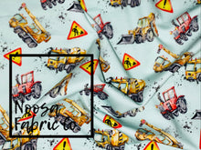 Doug Cotton Lycra Digital Print Fabric