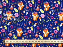 Peta 'Blue' Woven Digital Print Fabric