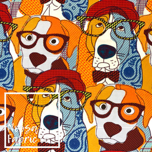 Bruno Woven Digital Print Fabric
