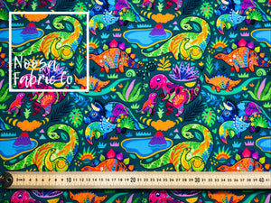 Dina Cotton Lycra Digital Print Fabric