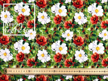 Lumi Christmas Woven Digital Print Fabric
