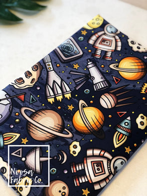 Apollo Space Galaxy Fabric