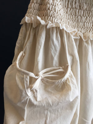 BLOOMERS in natural organic cotton