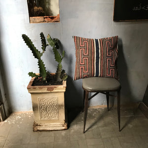 Ethnic Embroidered + appliqué cushion cover