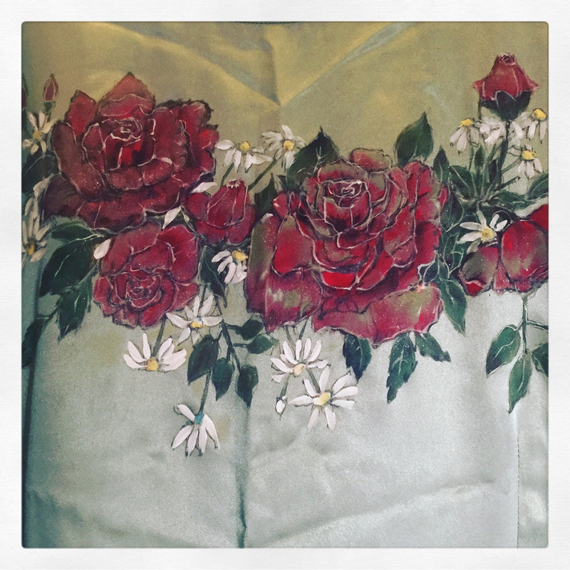 Hand Painted Roses for Jude