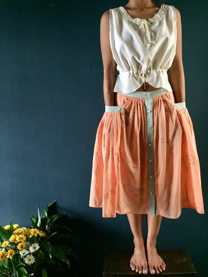Women's Folk Skirts | Hand Painted Fabric
