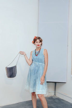 Women's 40s inspired Tea Dress