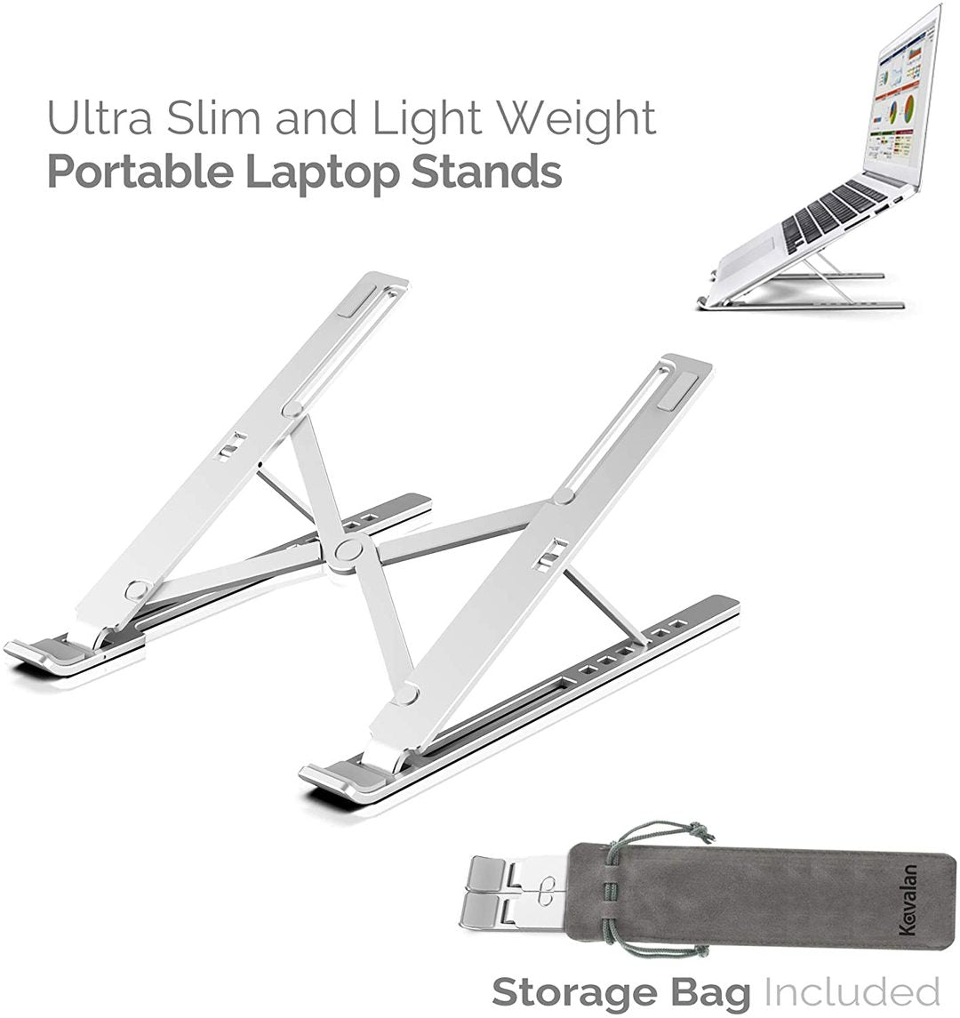 X Style Adjustable Foldable Laptop Stand