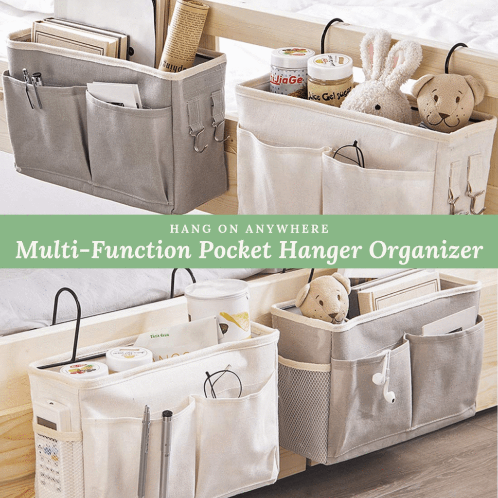 Easy To Hang - Multi-Pocket Organizer