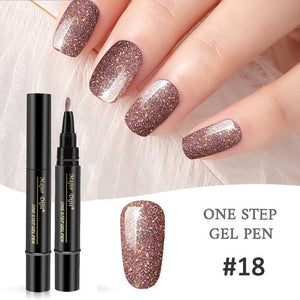 Nail art pen - ONE STEP POLISH PEN