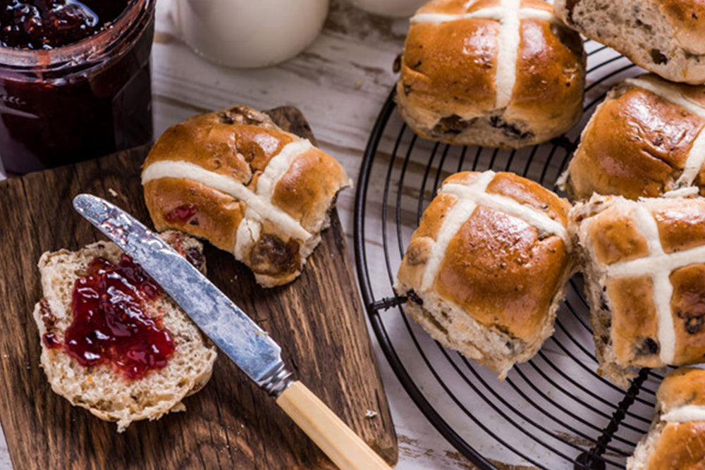 Phillippa's hot cross buns named Melbourne's best!
