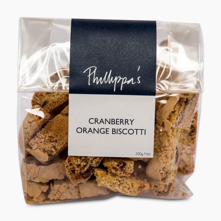 Cranberry Orange Biscotti - Phillippas Bakery