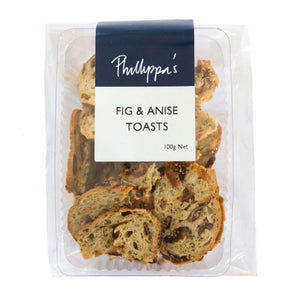 Fig Toasts - Phillippas Bakery