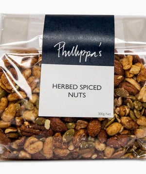Herbed Spiced Nuts - Phillippas Bakery