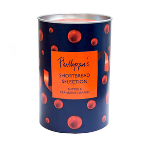Phillippa's Shortbread Selection Canister