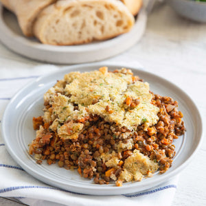 Lentil Bake (V) - avail. from 24/2
