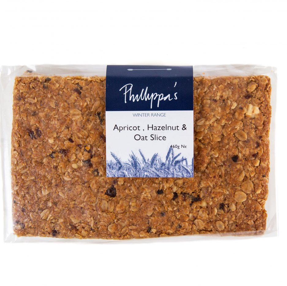 Apricot, Hazelnut & Oat Slice - Phillippas Bakery
