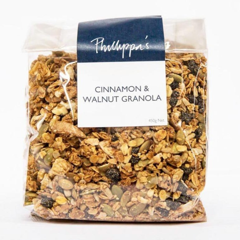 Cinnamon & Walnut Granola - Phillippas Bakery