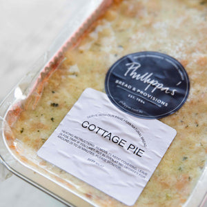 Cottage Pie - avail. from 22/9