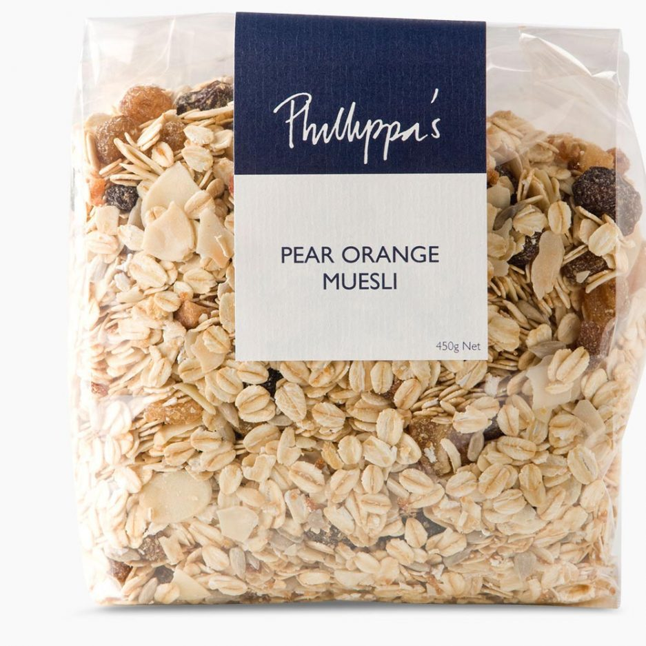 Pear Orange Muesli - Phillippas Bakery