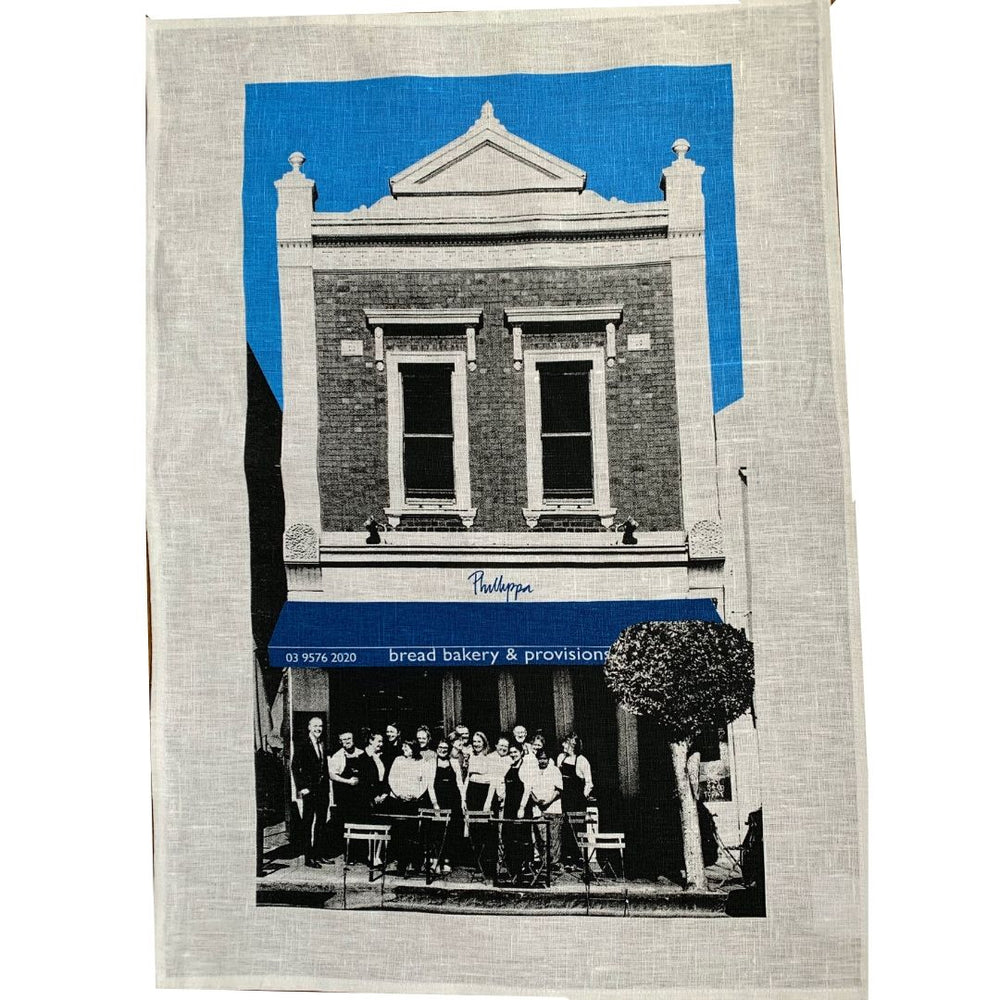 Phillippa's Linen Tea Towel - Phillippas Bakery