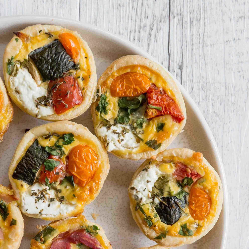 Mini Vegetarian Tartlets
