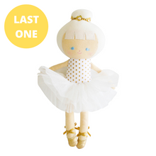 Load image into Gallery viewer, Baby Ballerina Doll In Gold Spot