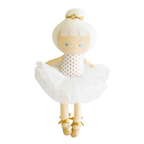 Baby Ballerina Doll In Gold Spot