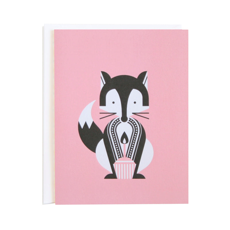 Fox Party Animals Card