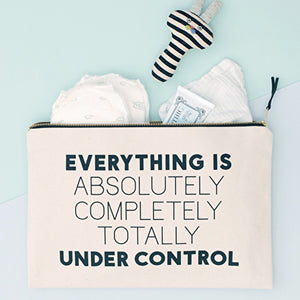 Under Control - Canvas Pouch