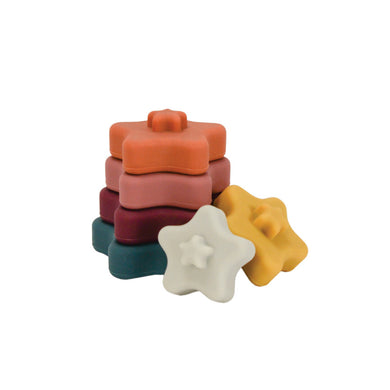 Star Silicone Stacking Toy