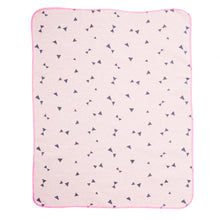 Load image into Gallery viewer, Rose Triangles Baby Blanket