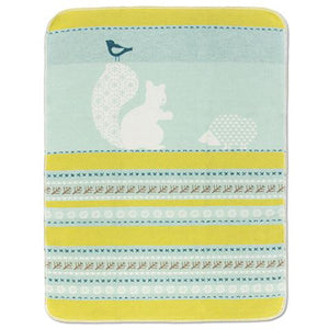 Squirrel And Friends Baby Blanket