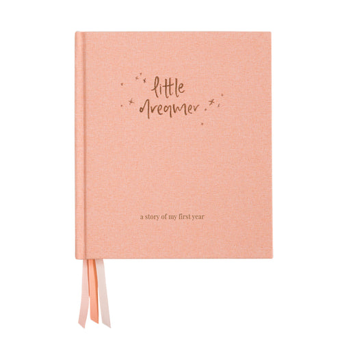 Little Dreamer Baby Journal - Petal