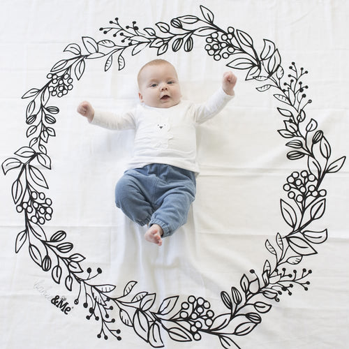 Wreath Wrap in Organic Cotton