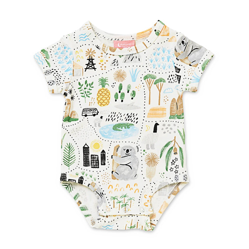 Short Sleeve Bodysuit - Big Adventures