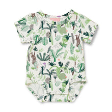 Load image into Gallery viewer, Short Sleeve Bodysuit - Fern Gully