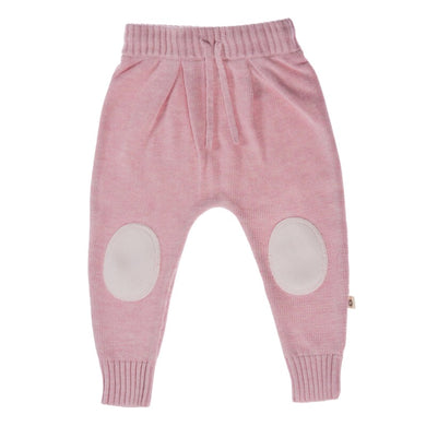 Knitted Pant - Blush Pink
