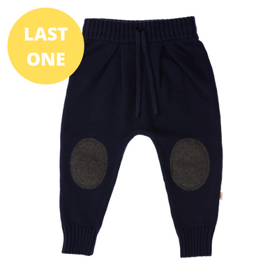 Knitted Pant - Navy