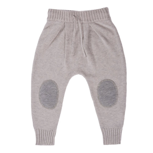 Knitted Pant - Silver
