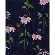 Load image into Gallery viewer, Dark Coneflower - Cotton Muslin Quilt - Little Unicorn